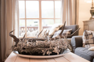 Winterlicher Tischkranz