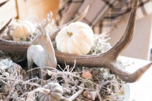 Herbstlicher Tischkranz