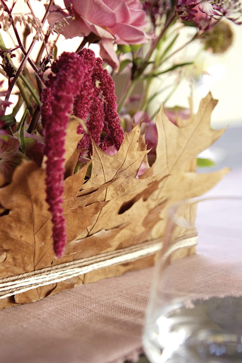 Table Decoration for Fall