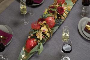 Glamouröse Tischdekoration