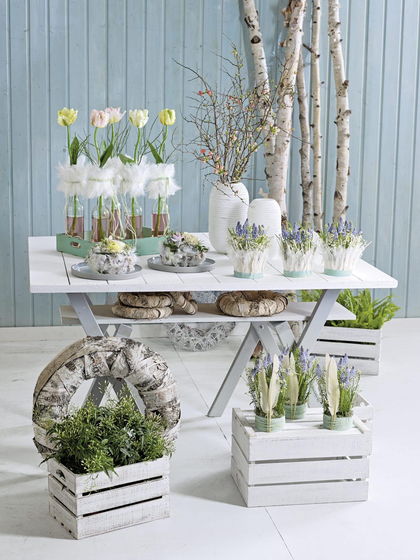 federleichter Frühling