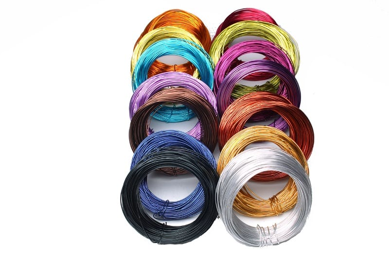 OASIS(R) Aluminium Wire 500g Group