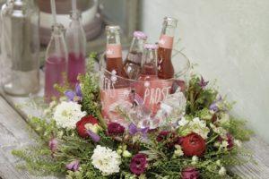 Floral Beverage Cooler
