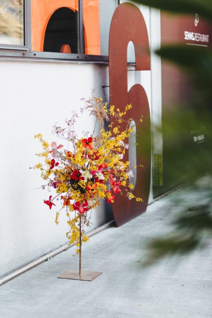 Floral Design – Tischdekoration