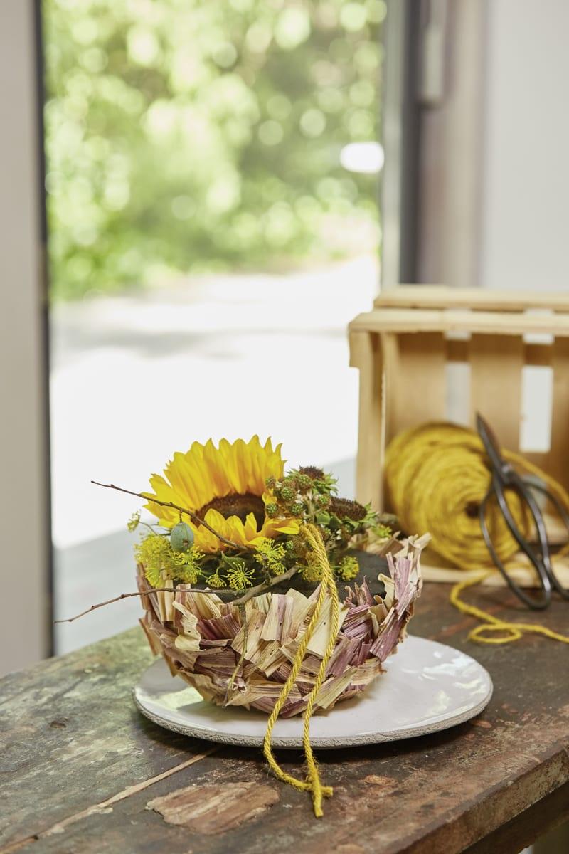 Sonnenblumen Im Kugellook Oasis Floral