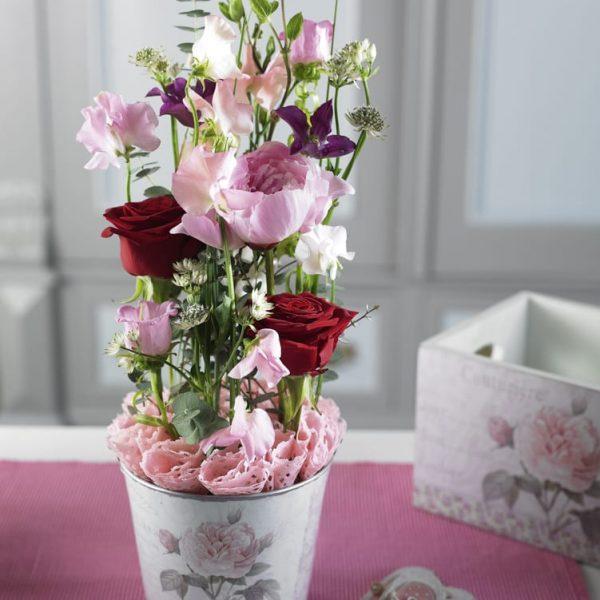 Liebevolles Geschenk Muttertag Valentinstag Steckschaum