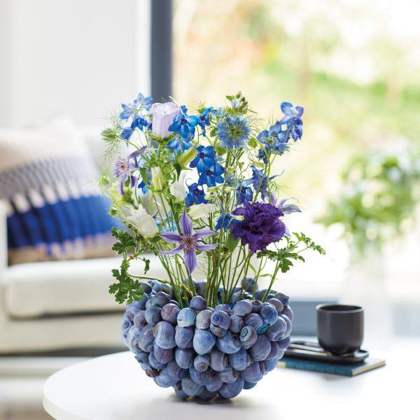 Tischedeko blau