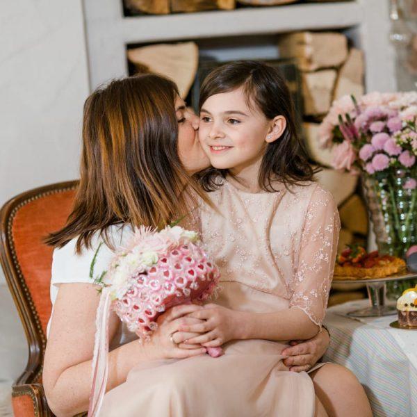 Muttertag Dekoration Geschenke Süßigkeiten Blumen Steckschaum