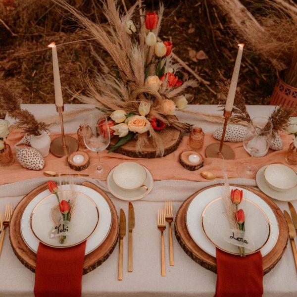 Hochzeit Stroh Esel Tischdeko Steckschaum Trockenblumen